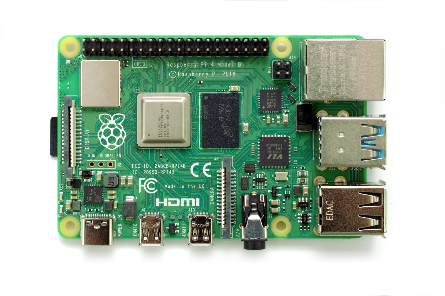 Raspberry Pi 4 Board